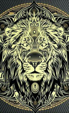 Nice artwork by chris saunders Animal Drawings, Art Drawings, Arte Hip Hop, Tattoo Henna, Lion Tattoo Design, Lion Wallpaper, Arte Obscura, Lion Of Judah, Lion Art