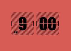 Flip Clock – design   Design: UI/UX. Apps. Websites   Darby Kim Thomas  