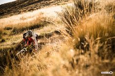 Photo of Neil Donoghue in sierra nevada, Spain. Slashing some dust into a spanish sunset