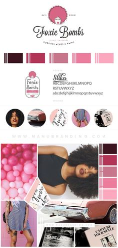 Chic branding for a modern shop website. Feminine. Pink Logo. Pink and Blue Branding. Fixer Upper. Coastal Inspired. Industrial. Professional Business Branding by Manu branding. Web Design, Logo, Mood Board, Brand Boards, and more.