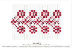 Semne Cusute: MOTIVE: floricele (P10, M 13) Simple Cross Stitch, Beading Patterns, Cross Stitch Embroidery, Pixel Art, Diy And Crafts, Quilts, Traditional, Sewing, Handmade