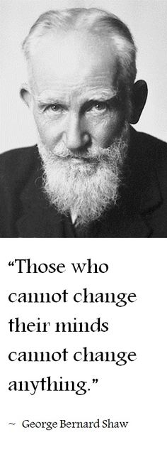 One of George B. Shaw's greatest quotes | Click here for many other inspirational & motivational quotes!