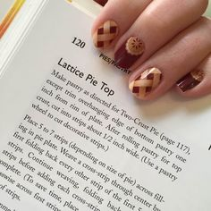 Your nails are #SweetAsPieJN  @jamiejamsjnic. What is your favorite food wrap?  #Jamberry #FoodieFriday