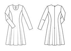 Sukienka: Burda. Klasyczne 1/2013/0012 / Burdastyle