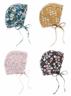 Briar Handmade baby bonnets, via Cup of Jo