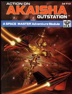 Product Line: Spacemaster  Product Edition: SM1  Product Name: Action on Akaisha Outstation  Product Type: Adventure  Author: Terry K. Amthor  Stock #: 9101  ISBN: 0-915795-46-9  Publisher: ICE  Cover Price:   Page Count: 32  Format: Softcover  Release Date: 1985  Language: English