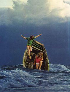 Une sélection des créations de l'artiste américaineBeth Hoeckel, basée àBaltimore, qui réalise de superbes collages surréalistes et oniriques à part