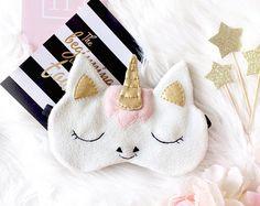 Unicorn sleep mask, Eye mask sleep, Funny sleep mask, Sleep mask for women, Eye Mask, Sleeping mask, Unicorn, Sleep mask