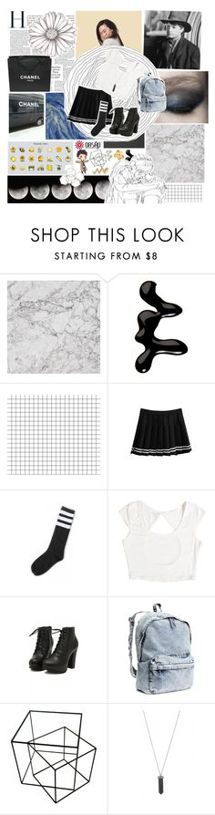 """back to the future + IMPORTANT ANNOUNCEMENT"" by kristenkubek22 ❤ liked on Polyvore featuring ferm LIVING, KEEP ME, Models Own, Bar III, H&M, Karen Kane, Monki, Chanel, kristencouture and melsunicorns"
