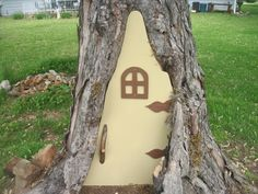 Have a Rotted Tree in Your Yard? Build a Fairy Door!