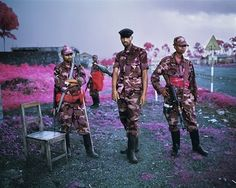 Richard Mosse's The Enclave at La Biennale di Venezia Minds North Kivu, Eastern Congo, 2012 Digital c-print, 122 x 152 cm, edition of 2 Courtesy the artist and Jack Shainman Gallery Congo, Richard Mosse, Photo Fair, Suspicious Minds, Infrared Photography, Art Photography, Street Photography, Documentary Photographers, Film