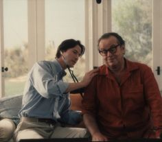 Keanu Reeves and Jack Nicholson in Something's Gotta Give