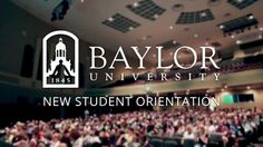 Orientation is a two-day experience designed to help students discover all Baylor has to offer. At Orientation, students and their guests are invited to explore the university's exceptional academic programs, while also experiencing Baylor's unique supportive community.