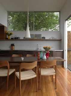 Love that pendant lamp & window!  (Coogee Apartment finalist)