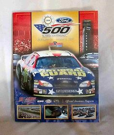 TALLADEGA SUPERSPEEDWAY Official RACE Program EA SPORTS 500 10/2/2005 NASCAR