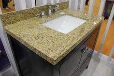 Newstar stone yellow granite countertop China factory Low price kitchen granite