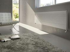 Heißwasser-Heizkörper / wandmontiert / aus Stahl / horizontal H_20 Antrax IT