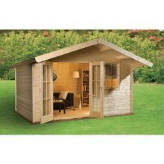 Mokki 212 Log Cabin - Summerhouses & Log Cabins - Garden Sheds & Buildings -Gardens - Wickes