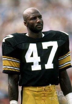 Pittsburgh Steelers defensive back Mel Blount during a 1983 pre-season game. Pittsburgh Steelers Players, Steelers Pics, Pittsburgh Sports, Best Football Team, National Football League, Nfl Football, Steelers Stuff, Pitt Steelers, Dallas Cowboys