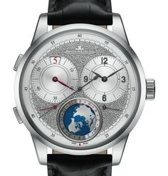 "Jaeger-LeCoultre Duomètre Unique Travel Time Watch - by Rob Nudds - not just chiseled good looks - see more on aBlogtoWatch ""Whenever a new watch is released by a prestigious brand, accompanying reams of marketing material extolling a retrodden technique as unique are almost par for the course. However, with the release of the Jaeger-LeCoultre Duomètre Unique Travel Time watch, one of the industry's most celebrated brands has produced something that catches the eye from all sorts of angles…"""