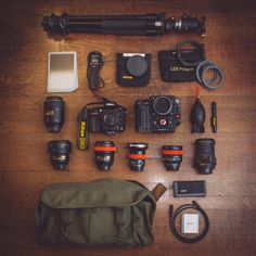 What's in your camera bag...and why?
