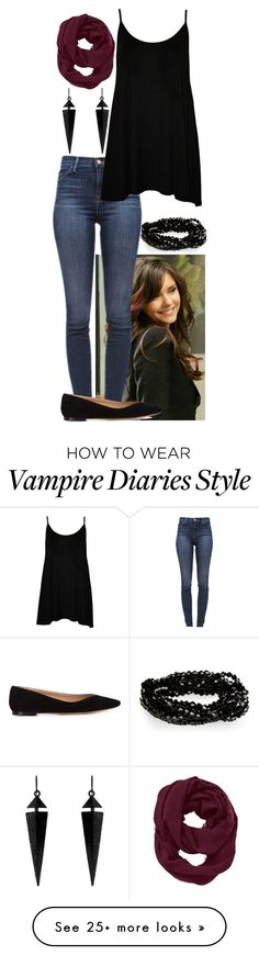 """Spending the day with Elena"" by ockey-33 on Polyvore featuring J Brand, Chloé, WearAll, Athleta and Oasis"