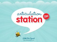Speech Time Fun: Introducing: Articulation Station Pro!  Review and freebie visual!