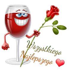 Weekend Humor, Emoji, Wine Glass, Happy Birthday, Tableware, Facebook, Happy Brithday, Messages, Te Quiero