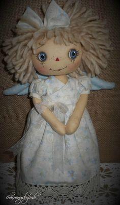 raggedy annie angel by charmingsbycmh