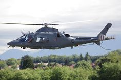 The Agusta A109 Helicopter in RNZAF Colours