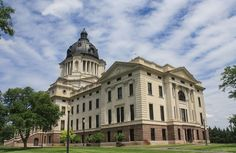 Top 5 Capitols in the United States Pierre South Dakota, South Dakota State, Column Capital, Capital City, Beautiful Buildings, Beautiful Homes, Moorish, Historical Society, Architectural Elements