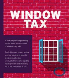 In the 1700's, #England‬  placed a #‎tax‬  on bricks. read more... http://accountshouse.co.uk/newsletter/strange-unusual-taxes-throughout-history/?fb_ref=4478a964252742b9adb20dc232258d22-Twitter