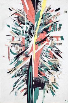 "Saatchi Art Artist justin bauer; Painting, ""anonymous empire"" #art"