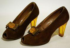 Tutti Frutti Vintage: Addiction aux chaussures années 40