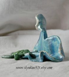 The Wanderer  original sculpture by SkyeBlue85 on Etsy, $35.00