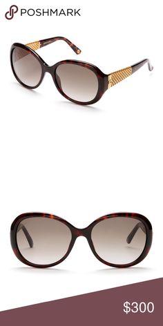 d7435e6c512 Authentic Gucci Havana GG 3693 round sunglassesNWT