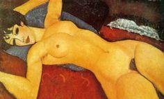 Nu sur un Coussin - Amedeo Modigliani