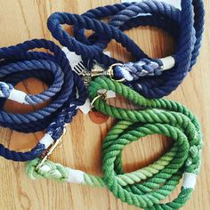 We have so many colors to choose from! Our dog leashes and collars are unique and stylish.