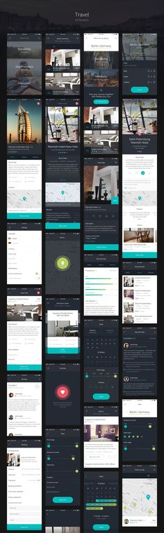 Routes is a big iOS UI Kit, full of nice UI elements, organized into qualitative screens. Routes is about things that make us happy – about traveling, communication and spending money on nice things. It's about the feeling of freedom. Web Design, Ios App Design, Android Design, Mobile Ui Design, Interface Design, Flat Design, User Interface, Android Ui, Dashboard Design