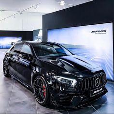 Mercedes Benz Amg, Mercedes A Class, Amg Car, Benz Car, Classe A Amg, Mercedes Hatchback, Best Cars For Teens, New Luxury Cars, Mercedez Benz