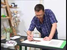 Willy Berutti enseña técnicas de pintura