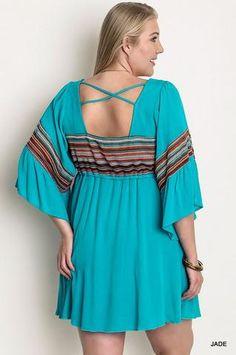 Striped Peasant Maternity Dress