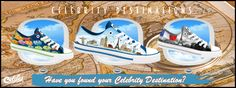 Plimsoll casual printed shoes printed with picture of celebrity destinations Printed Shoes, Plimsolls, Celebrity Pictures, Converse Chuck Taylor, High Top Sneakers, Destinations, Celebrities, Casual, Blog