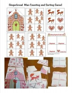 My students LOVED this game.  We used it during social skills group, but also good for practicing counting 1-3.  Included on webpage is whole thematic unit on the Gingerbread Man story.  From Teachingheart.net