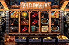 Erblicke USA in 19 Jahrhundert im Gold Diggers #Spielautomat von #BetSoft kostenlos!