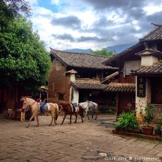 Shaxi village, Yunnan