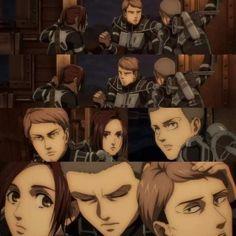 Attack On Titan Jean, Attack On Titan Anime, Manhwa, Atack Ao Titan, Connie Springer, Horse Face, Kirara, Titans Anime, Sakura Haruno