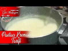 Pastacı Kreması Tarifi|Nefis Tarifler Gülmutfagimcom - YouTube Cream Patisserie, Pudding, Youtube, Desserts, Food, Tailgate Desserts, Deserts, Puddings, Meals