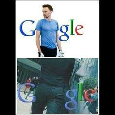 Tom Hiddleston & Benedict Comberbatch ~ Google that ass!