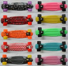 Exclusive Retro Skateboards Old School cruiser Penny, Graphics And (Glow Hover)